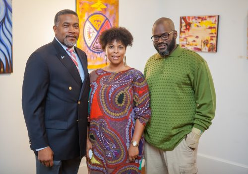 Dr. Darin Waters, Ms. Michelle Lanier & Mr. DeWayne Barton